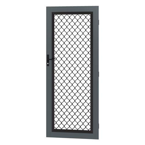 Protector Aluminium 808-848 x 2030-2070mm Adjustable Grille Barrier Door - Ironstone