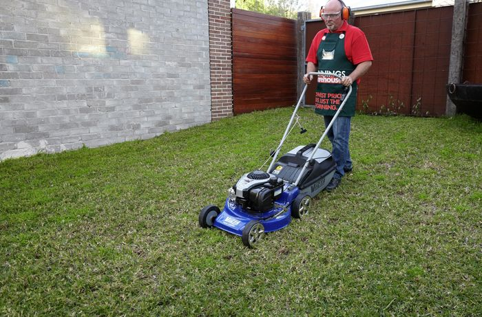 DIY Step Image - How to aerate and top dress your lawn . Blob storage upload.