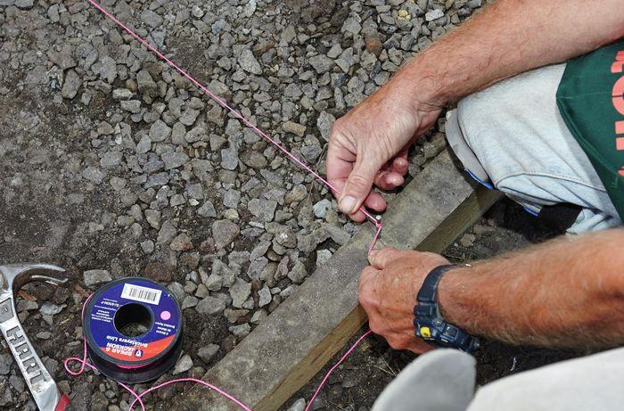 DIY Step Image - How to lay pavers . Blob storage upload.