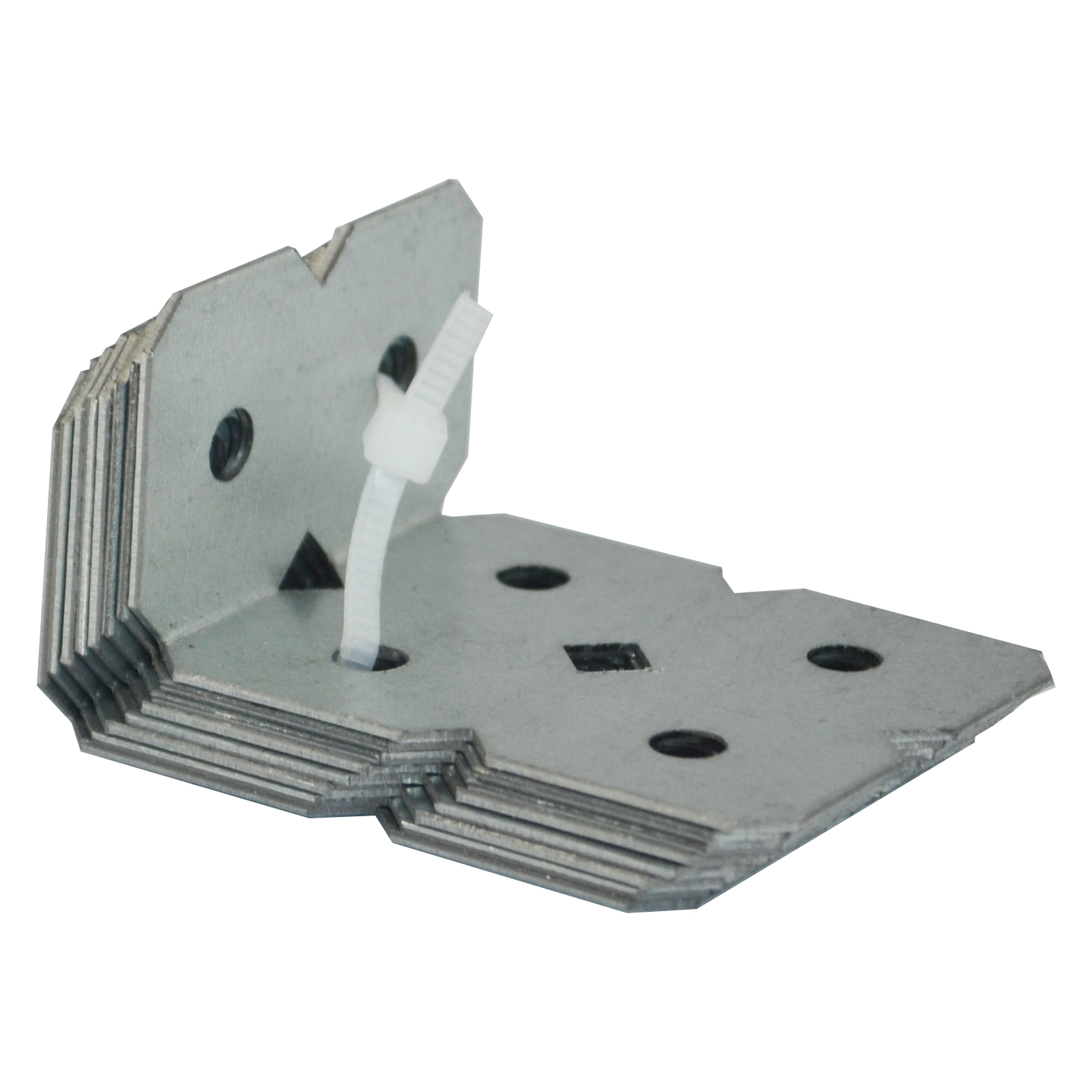 Carinya 25 x 50 x 40 x 1mm Galvanised Angle Bracket - 8 Pack