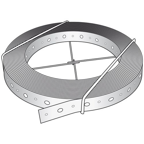 Abey 30 x 0.8mm x 15m Punched Strapping