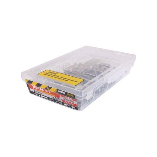 Buildex 14g x 50mm Zinc Alloy Bugle Batten Tek Screw - Box Of 100