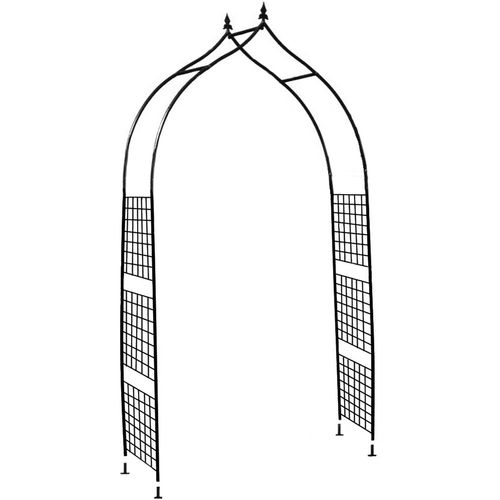 Lotus 2.5m Metal Garden Arch