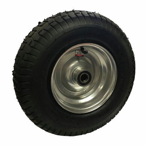 "Move It 1"" 650 x 8 Bearing With Steel Hub Pneumatic Wheel"