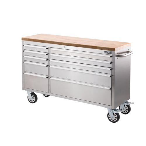 "Ultimate 56"" 10 Drawer Storage Tool Trolley"