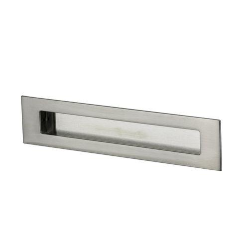 Sylvan 223mm Satin Nickel Plate Flush Pull