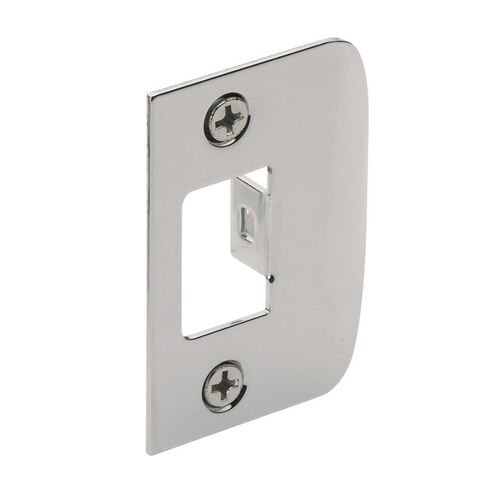 Gainsborough Bright Chrome D Strike Plate - To Suit 480 Series