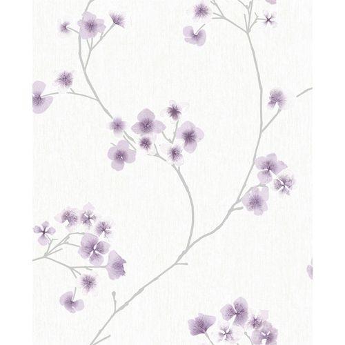 Superfresco Easy 52cm x 10m Lavender / White Radiance Wallpaper
