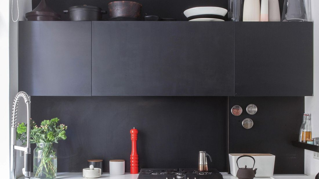 black and white kitchen cropped