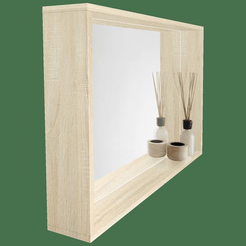 Cibo Design 900 x 600mm Coast Veneer Fresh Frame Mirror