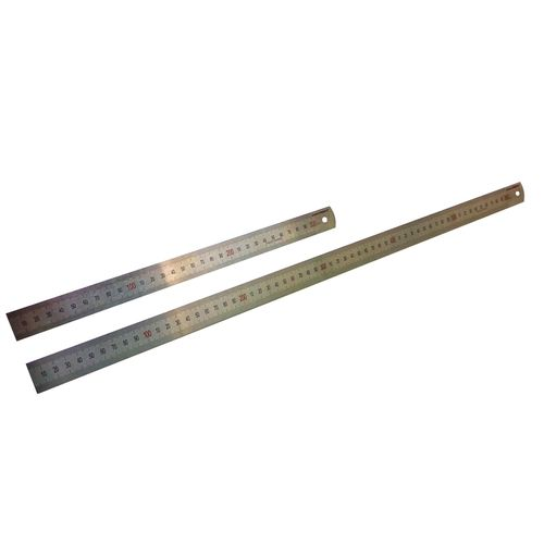 Craftright 600 And 300mm Stainless Steel Ruler - 2 Pack