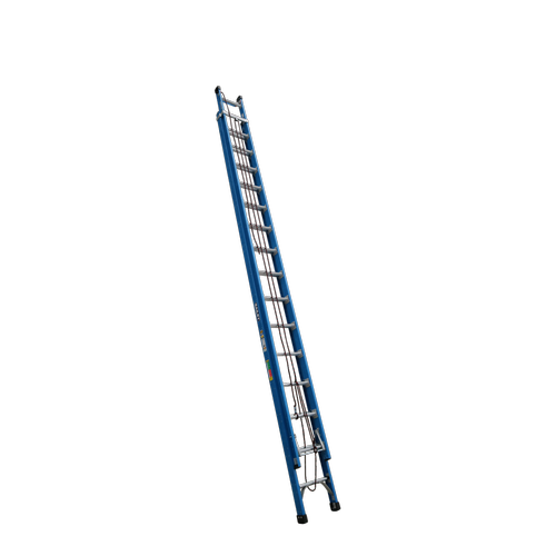 Bailey 5-9m 170kg Industrial Rated Pro 16 Rung Fibreglass Extension Ladder