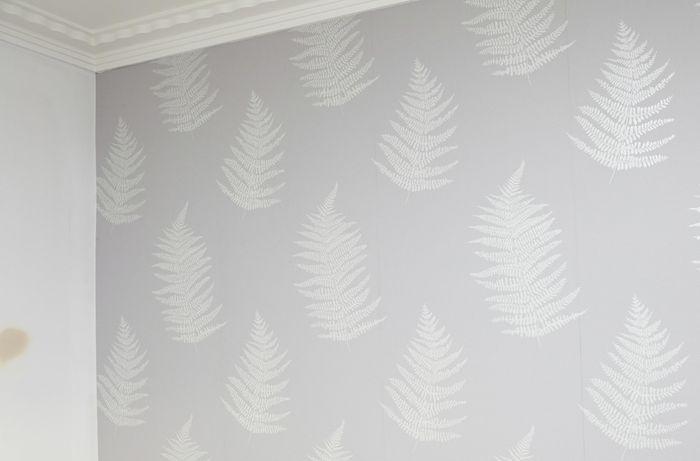 DIY Step Image - How to hang wallpaper . Blob storage upload.