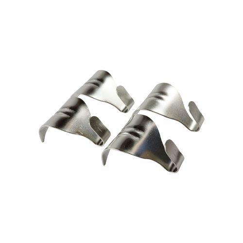 Everhang 24mm Nickel Plated Moulding Hooks - 4 Pack