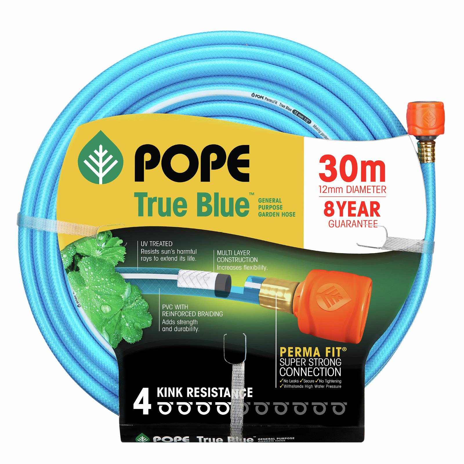 Pope 12mm x 30m True Blue Garden Hose