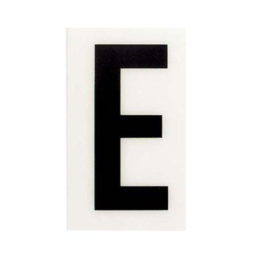 Sandleford 85 x 55mm E White Self Adhesive Letter