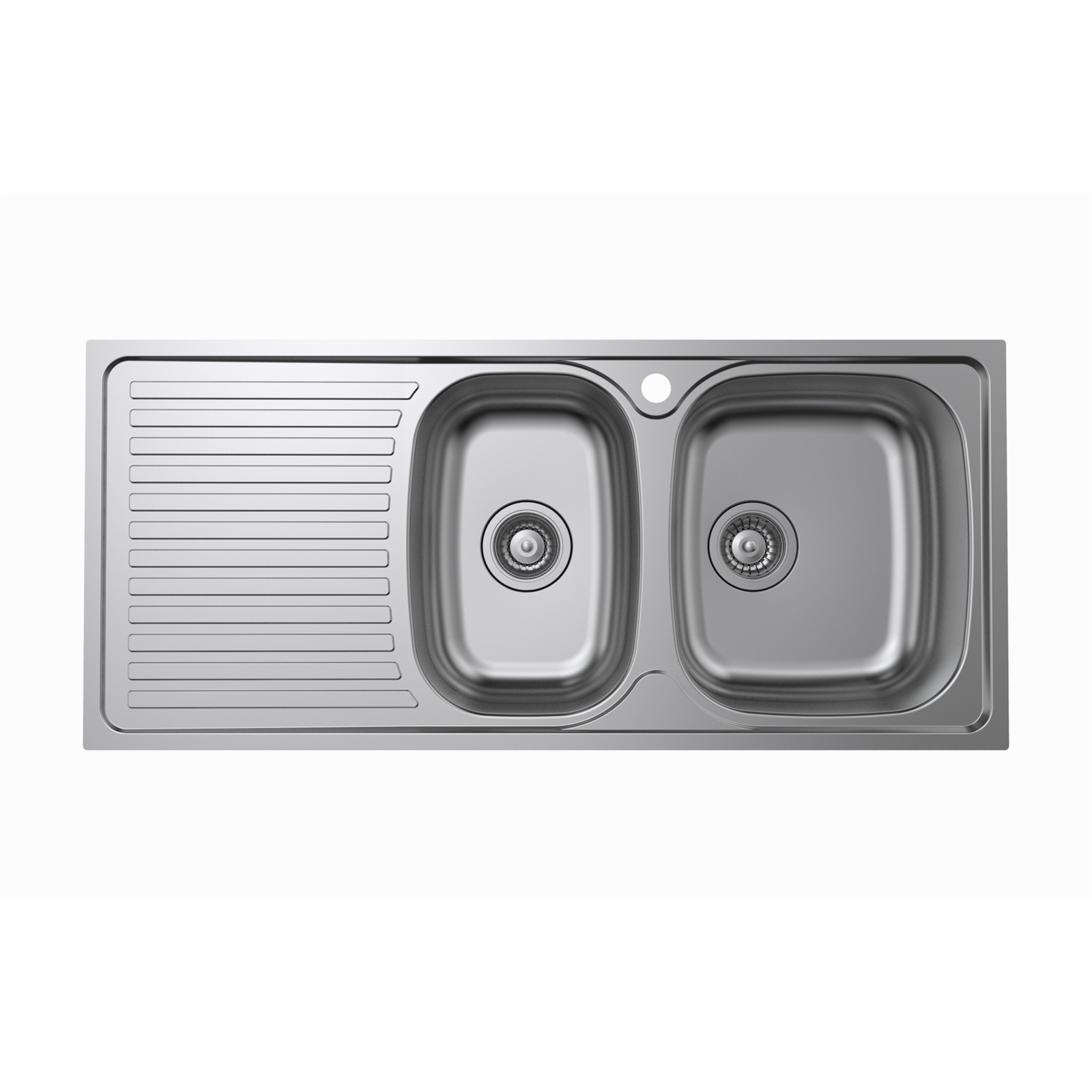 Kinetic 1080 x 480 x 150mm 1 3/4 RH Bowl Sink