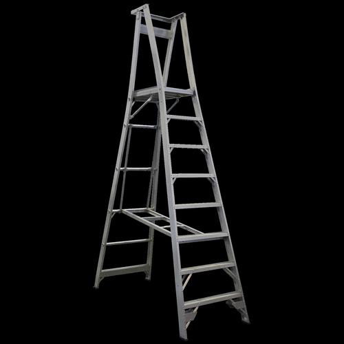 Indalex 2.4m 150kg Aluminium Platform Ladder