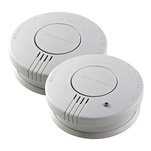 Family Shield Photoelectric Smoke Alarm Twin Pack