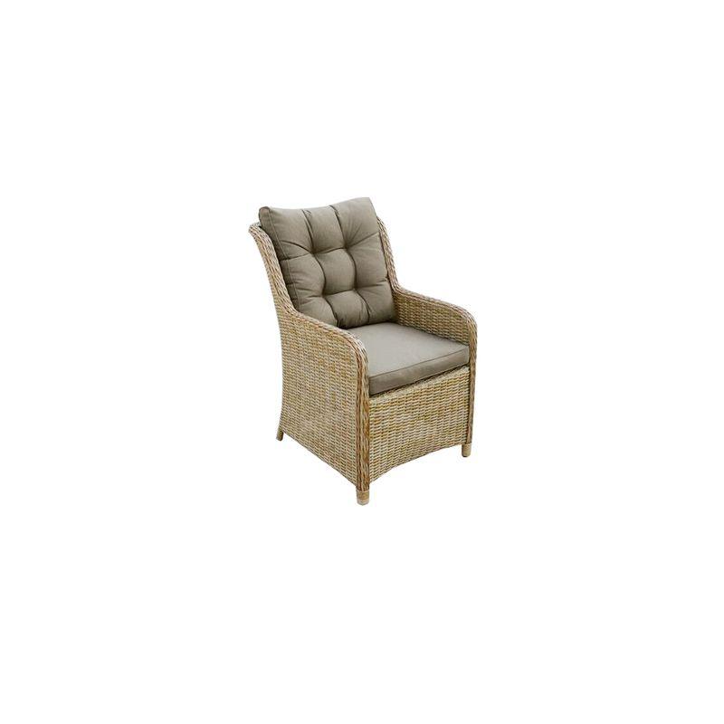 Corsica Aluminium Lounge Chair