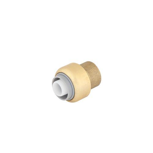 SmarteX P 16mm Push Fit Brass Pex Cap