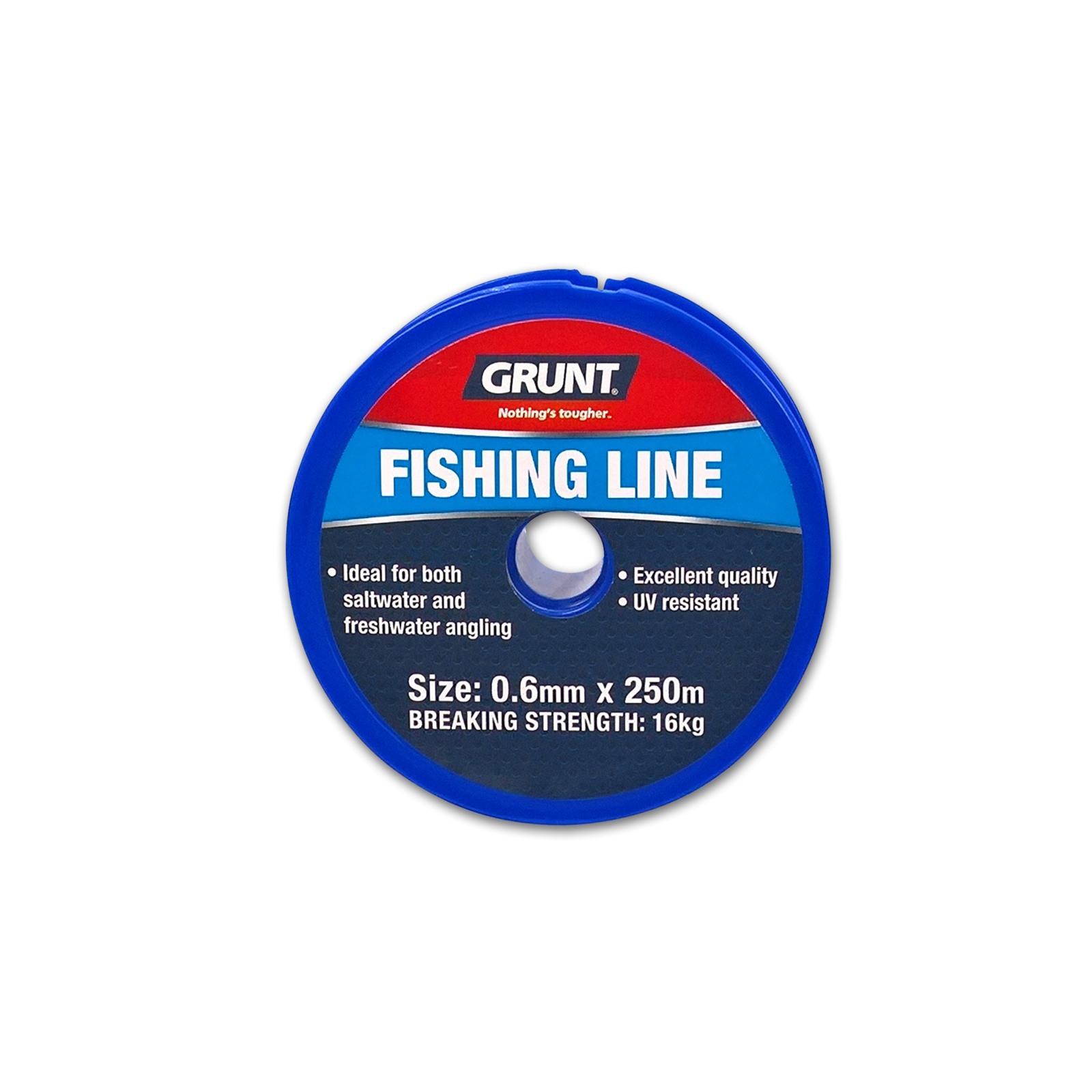 Grunt 0.60mm x 250m Nylon Line