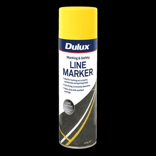 Dulux 500g Yellow Paint Line Marker