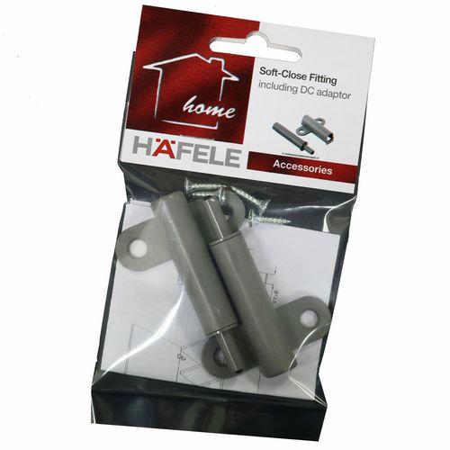 Hafele Soft Close Piston Including T Shaped Adaptor - 2 pack