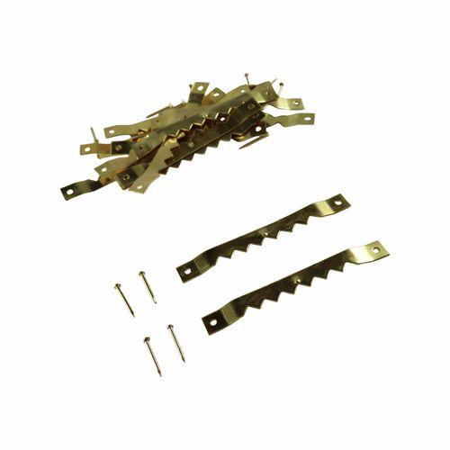 Everhang Brass Plated Frame Hangers - 15 Pack