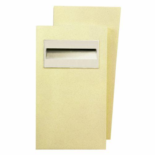 Poly-Tek Jamaica Pillar Letterbox