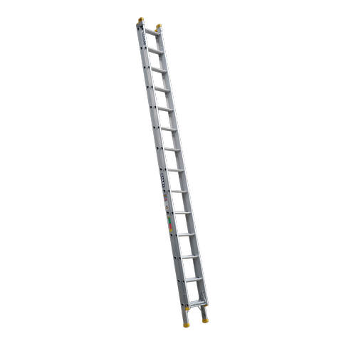 Bailey 4.4-7.7m 150kg Industrial Rated Pro 14 Rung Aluminium Extension Ladder