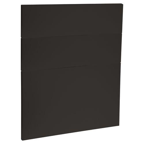 Kaboodle 600mm Grey Spice Modern 3 Drawer Panels