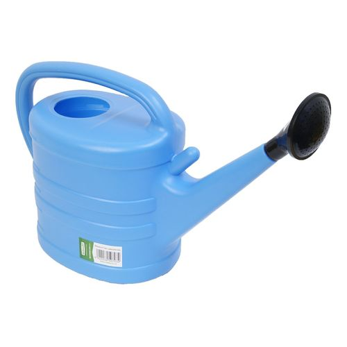 Malloy Plastic Watering Can 5L Blue