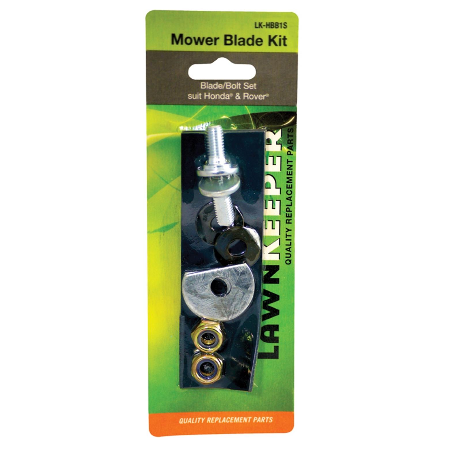 LawnKeeper Mower Blade & Bolt Set
