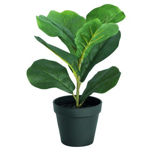 UN-REAL 38cm Artificial Fiddle Leaf Fig Tree