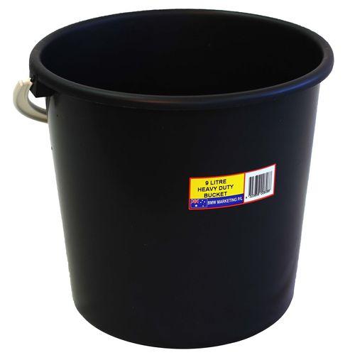 Icon Plastics 9L Round Heavy Duty Plastic Bucket