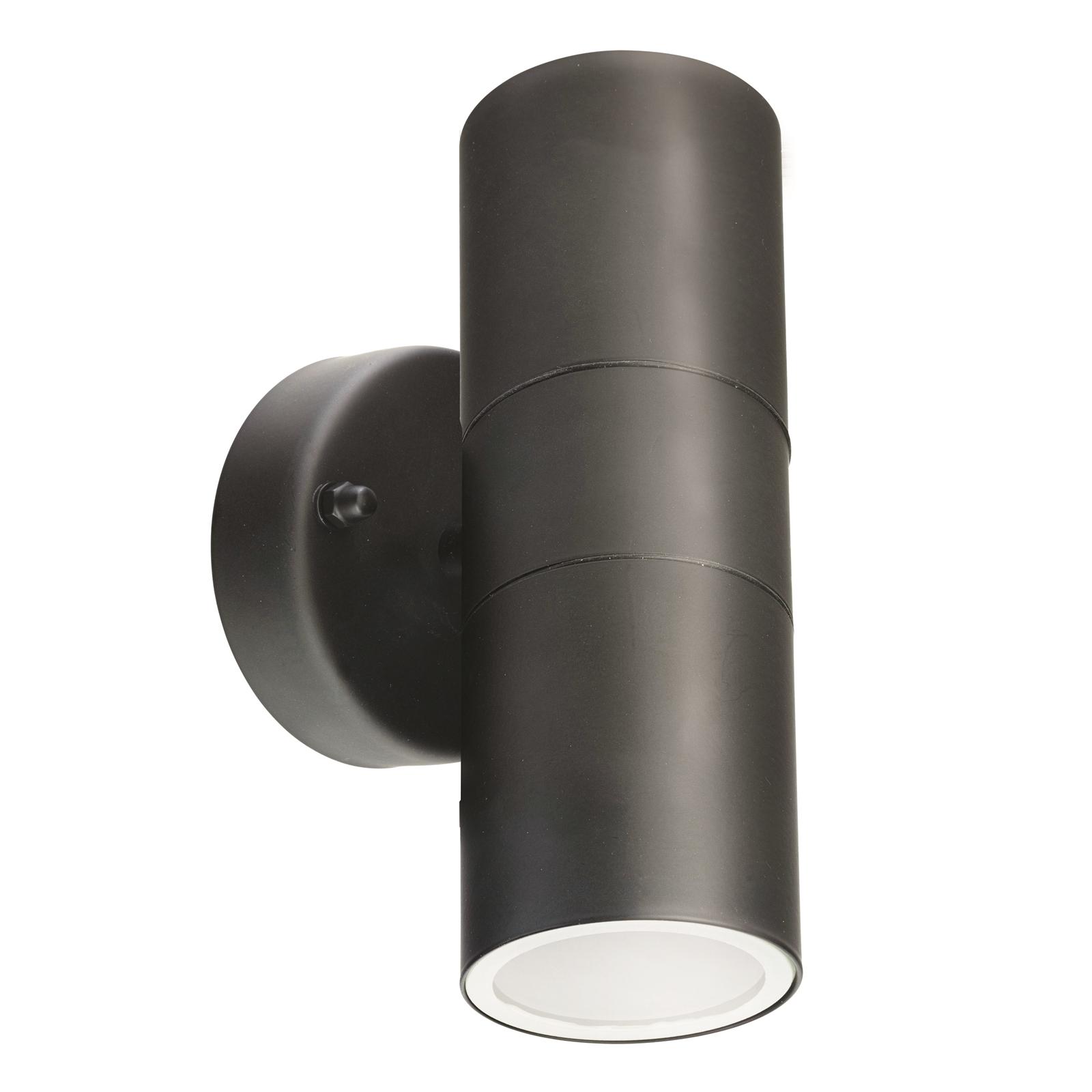 Brilliant Lighting 240V Black Up Down Coolum Light