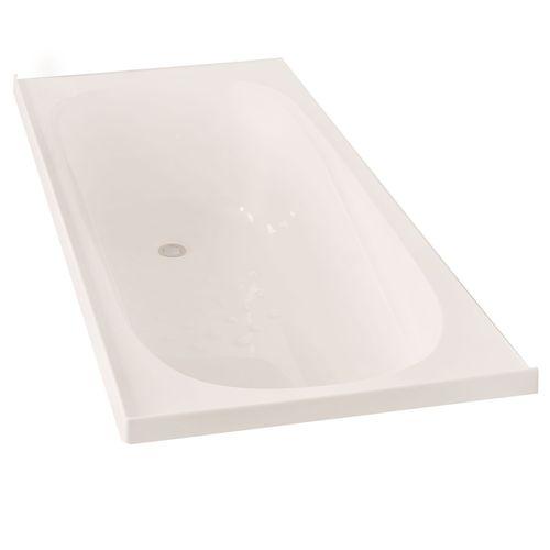 Clearlite Bathrooms 1655 x 740 x 405mm White Pacific Bath