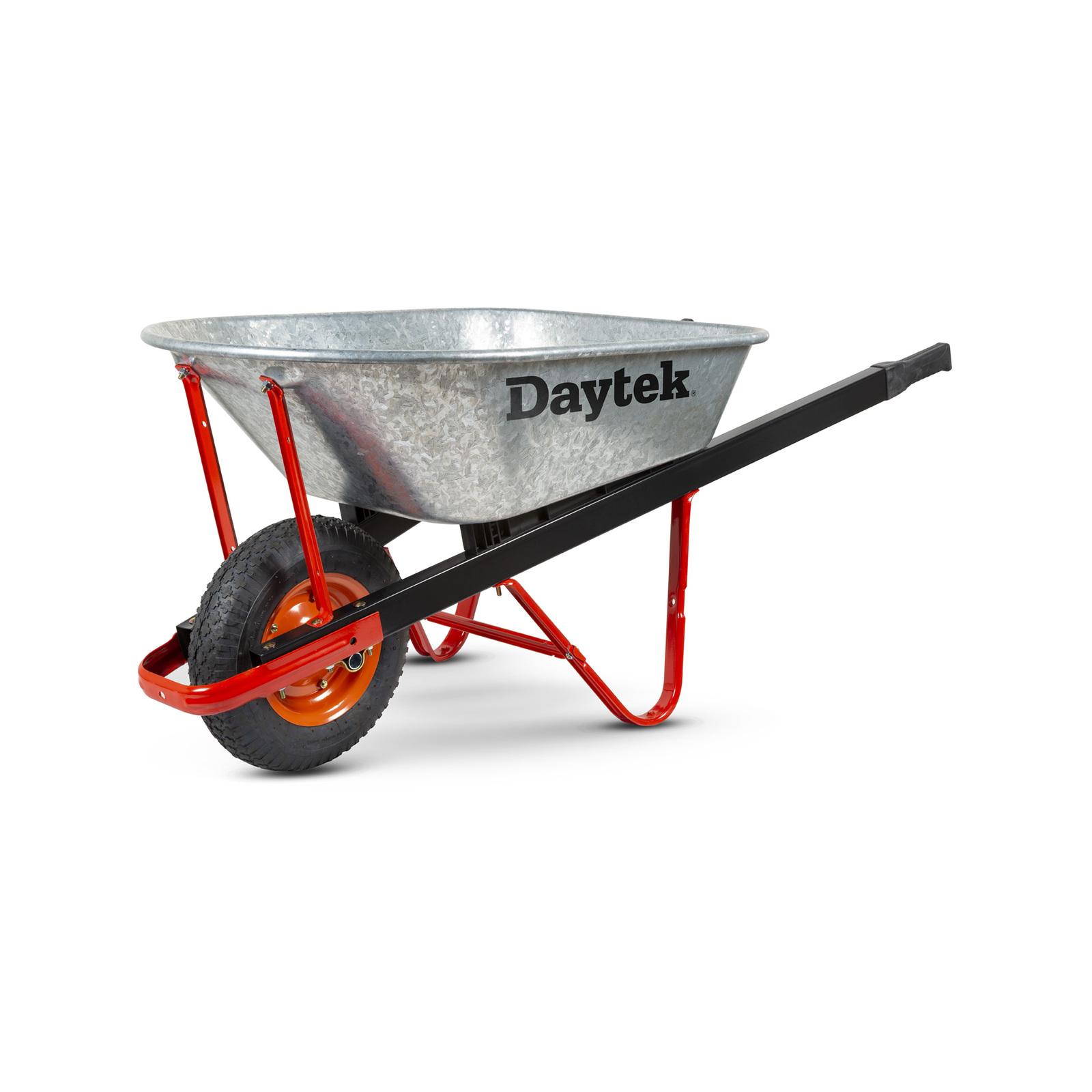 Daytek 100L Galvanised Tradesman Wheelbarrow