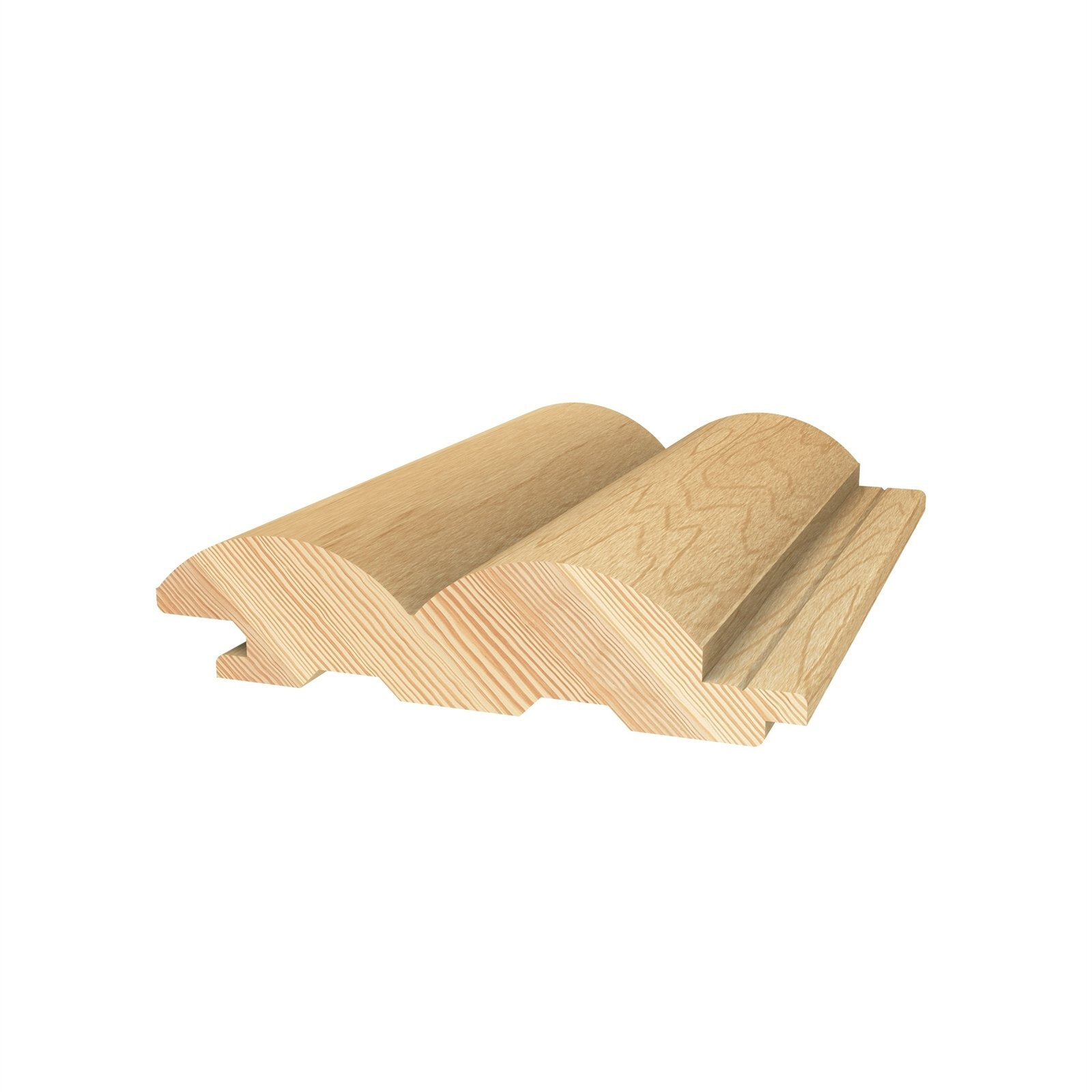 Porta Contours 78 x 21mm 2.4m Riverine Clear Pine Lining Board