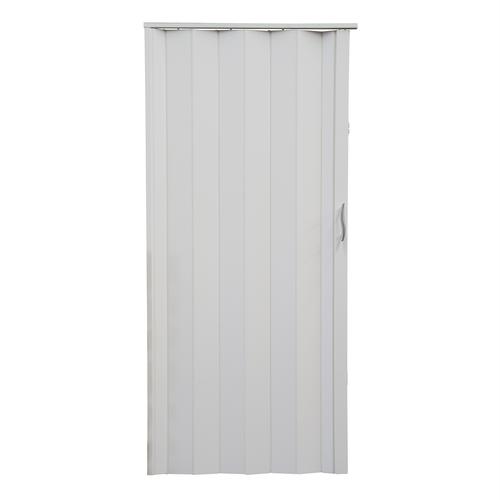 Pillar Products 82 x 203cm White Monaco PVC Concertina Door
