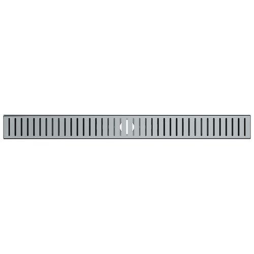 Stein 800 x 80 x 20mm Quick Tile Channel Drain Kit