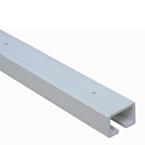 Pillar Products 205cm White Havana PVC Concertina Door Headrail Extension