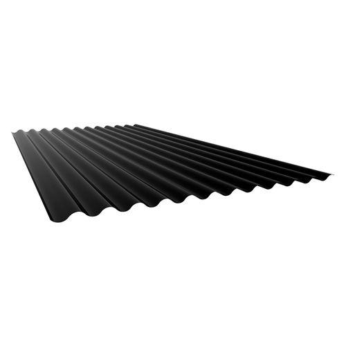 Armorsteel 845 x 1800mm Ebony 0.4 Corrugated Roofing Steel