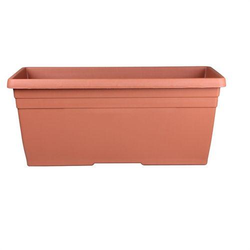 Northcote Pottery 600mm Terracotta Plastic Villa Window Box