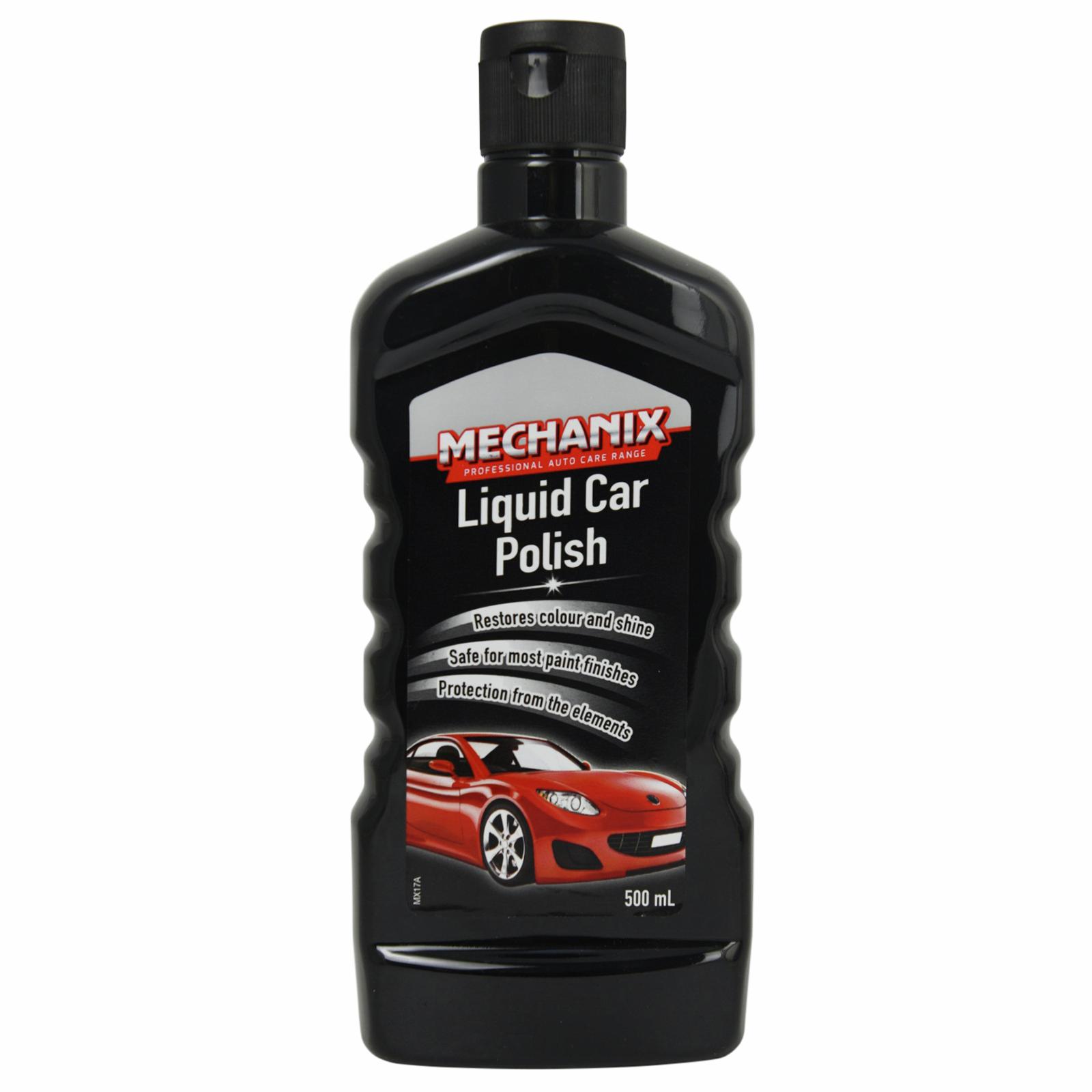 Mechanix 500ml Liquid Car Polish