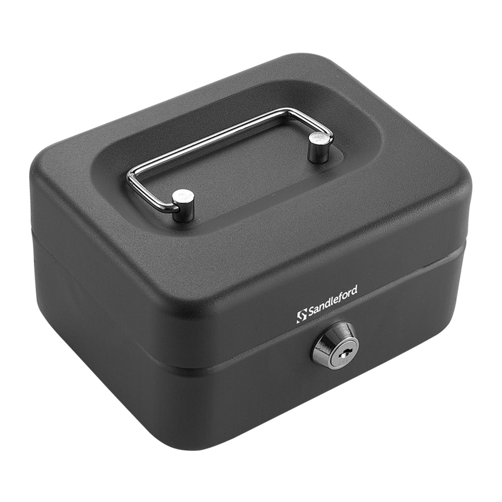 Sandleford 150mm Black Small Cash Box