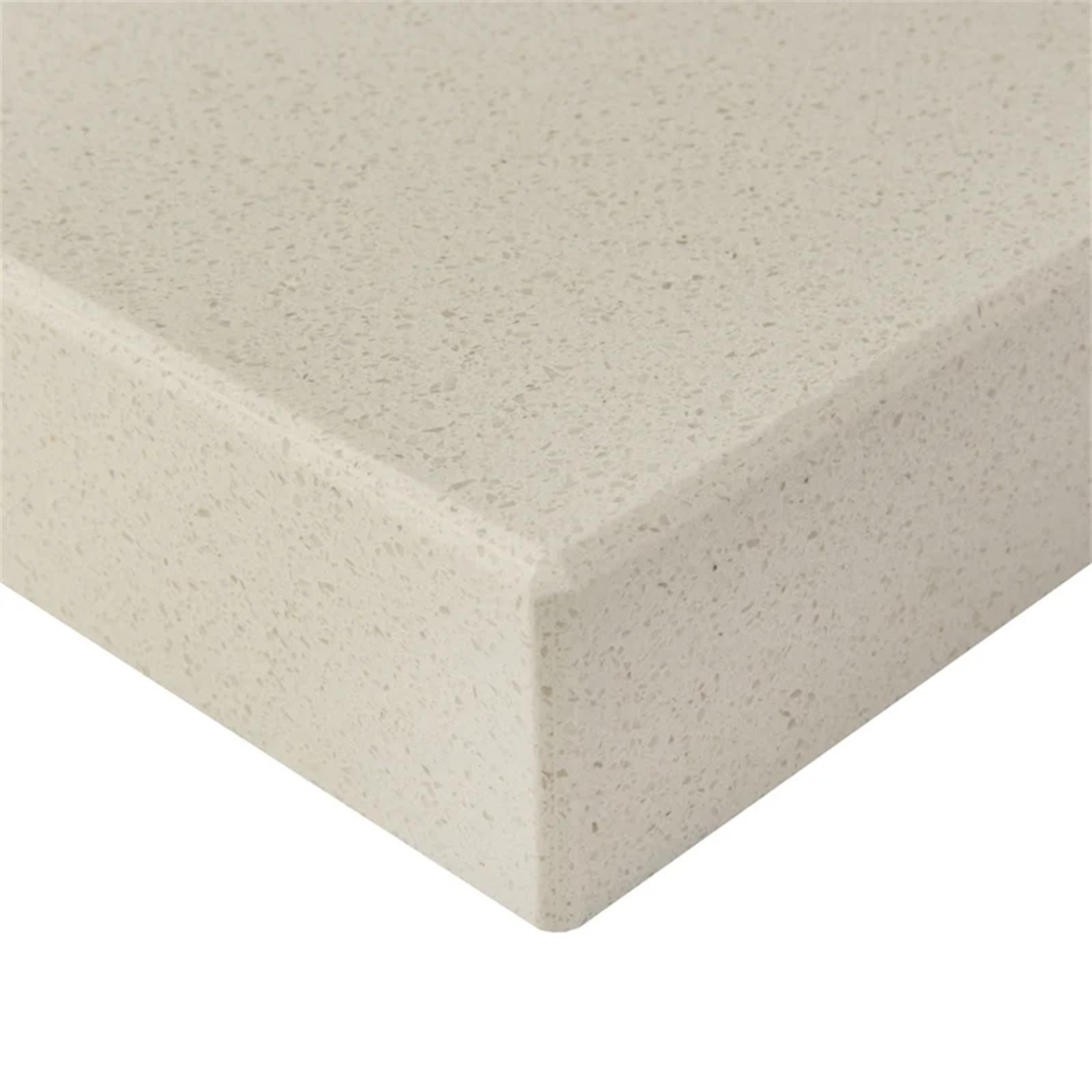 Essential Stone 40mm Square Urbane Stone Benchtop - Creme Caramel