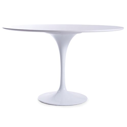 Coupe 4 Seater 120cm White Table