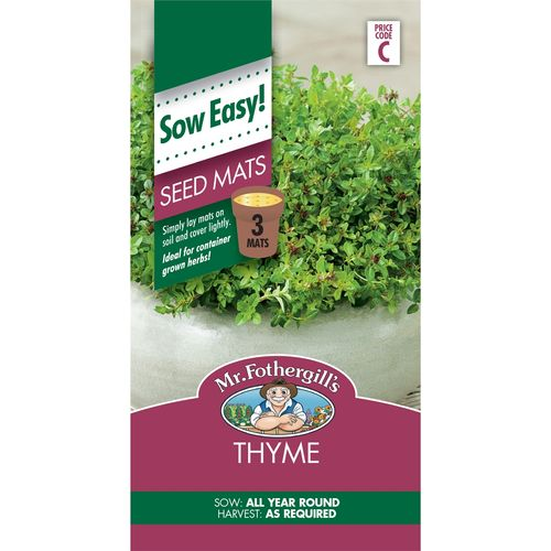 Mr Fothergill's Thyme Seed Mat